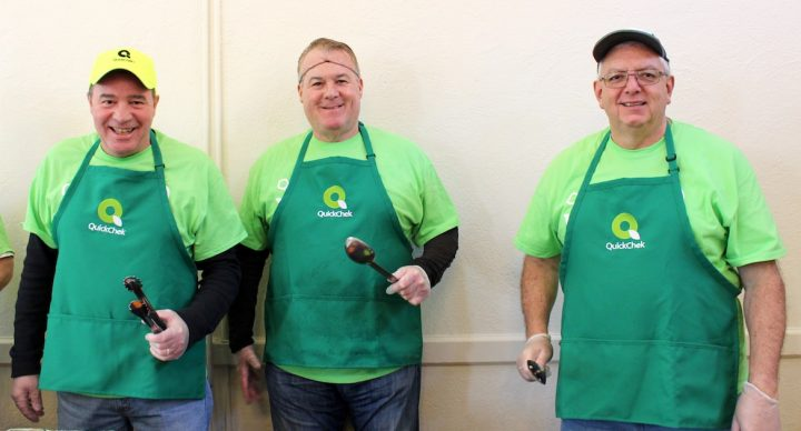 QC Leaders Spend Time at a Local Soup Kitchen